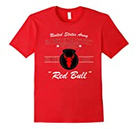 34th Infantry Division Shirts Red