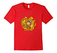 Aria Coat Of Arms Emblem On Shirts For & Tank Top Red