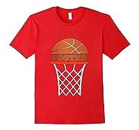 Basketball Foster Custom Name Gift, Shirts Red