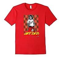 Wwe Nerds - Hot Rod Roddy Piper Neon Series Premium T-shirt Red