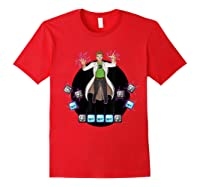 Mario Lab Twitch T Shirts Red