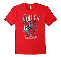 Disney Pixar Monsters University Sulley Basketball Premium T-shirt Red