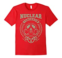 Nuclear Fallout - T-shirt Red