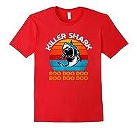 Killer Shark Funny Meme Shirts Red