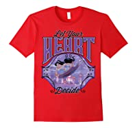 Aladdin Jasmine Let Your Heart Decide Ride Shirts Red