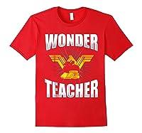 Wonder Tea Funny Tea Life Shirts Red