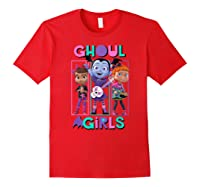 Vampirina Ghoul Girls Trio Shirts Red