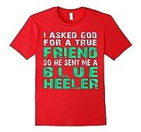 Blue Heeler Shirts Red
