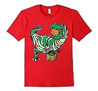 Funny Basketball Player T Rex Dinosaur Halloween Costume T-shirt Red