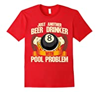 Beer Billiards For Pool Hall Pub With Mugs Suds Shirts Red