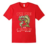 Italian St Of The Seven Fishes Christmas Eve Shirt! Red
