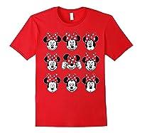 Disney Minnie Rock The Dots Oh My Minnie T-shirt Red