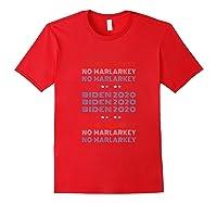 No Malarkey Biden 2020 Shirts Red