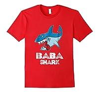 Baba Shark Shirts Red