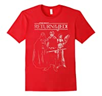 S The Return Group Poster Shirts Red