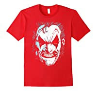 Lobo In Lo Face T-shirt Red