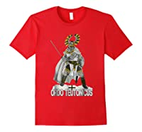 Knights Of The Teutonic Order Shirts Red