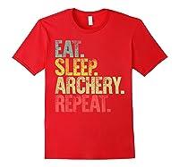 Eat Sleep Repeat Gift Shirt Eat Sleep Ary Repeat T-shirt Red