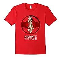 Karate Kyokushin T-shirt Red