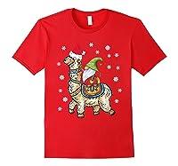 Santa Hat Christmas - Santa Gnome T-shirt Red