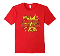Super Mailman Super Power Mail Carrier Gift Shirts Red