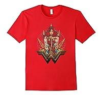 Wonder Woman Movie Wonder Blades T-shirt Red