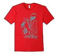 Batman Gritted Teeth T-shirt Red
