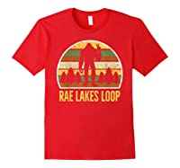 Rae Lakes Loop Shirt, Rae Lakes Loop T-shirt Red