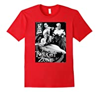 Twilight Zone About To Enter Another Dision Shirts Red