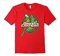 Green Lantern Glow Shirts Red