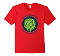 I\\\'m Silently Judging Your Beer Selection Funny Craft Beer T-shirt Red