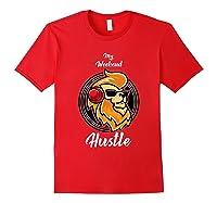 My Weekend Hustle Dj T-shirt T-shirt Red