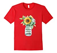 Happiness Is Being A Gramma Gift For Grandma Shirts Red