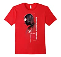 Spider Man Miles Morales Specs Shirts Red
