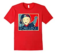 Caillou T Shirt Red