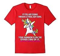 Unicorn Childhood Hemiplegia Awareness For T-shirt Red