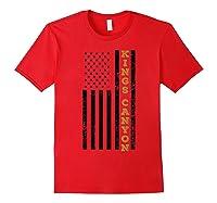 Kings Canyon National Park Souvenir Gift T-shirt Red