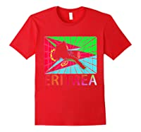 Eritrea Map Eritrean Shirts Red