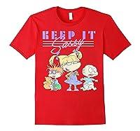 Nickelodeon Rugrats Angelica Keep It Sassy Shirts Red