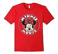 Circle Minnie Shirts Red