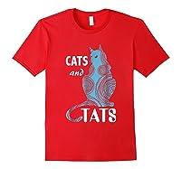 Tattoo Cats And Tats Tattoos Shirts Red