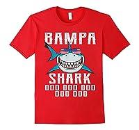 Bampa Shark Doo Doo Shirt - Matching Family Shark Shirts Red