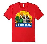 Booba Team Friendship Cheese For Girls Birthday Gift Shirts Red