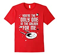 Star Trek Only One For Me Valentine's Day Graphic Shirts Red