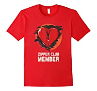 Open Heart Surgery Shirt Survivor Post Attack Recovery Gift Red