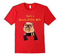 Brussels Griffon Dog Halloween Otter You're A Brussels Shirts Red