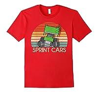 Vintage Sprint Cars T-shirt Red
