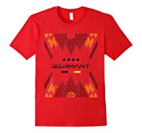 Germany National Team Football Germany Soccer Shirts Red