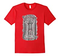 Mademark X Rick And Morty Rick And Morty Solenya The Pickle Man Graphic Shirts Red