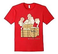 Pixar Bao Weekend Woodblock Feels Graphic Shirts Red